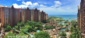 Our room view from Aulani